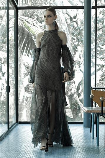 31d86d83d Vestido Longo Seda Estampado   Feminino Sale - Feminino Sale   FORUM