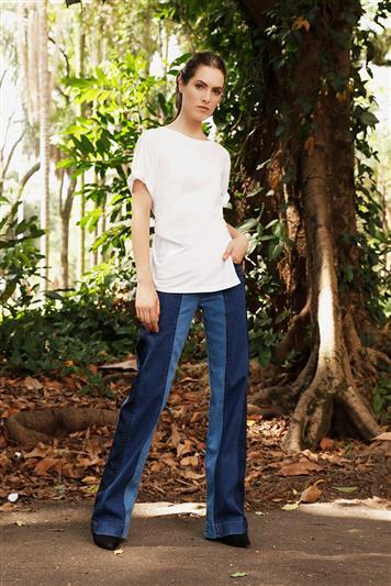 2ff9d124cd9c1 Calca Jeans Pantalona