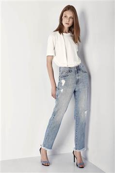 7445d7a885689 Calca Jeans Marina Cigarrete Original Denim