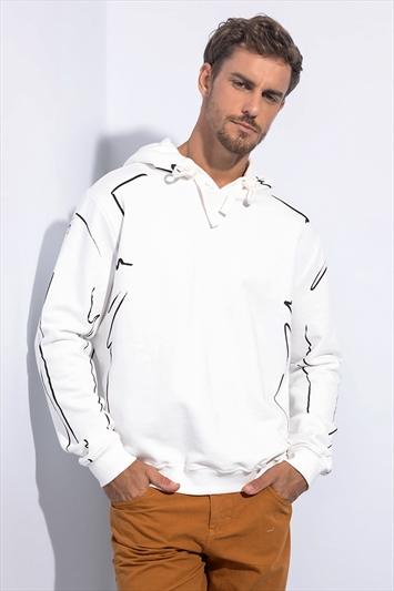 0ba7556e9 Blusão Moletom Estampado Com Capuz | Masculino - Masculino | FORUM
