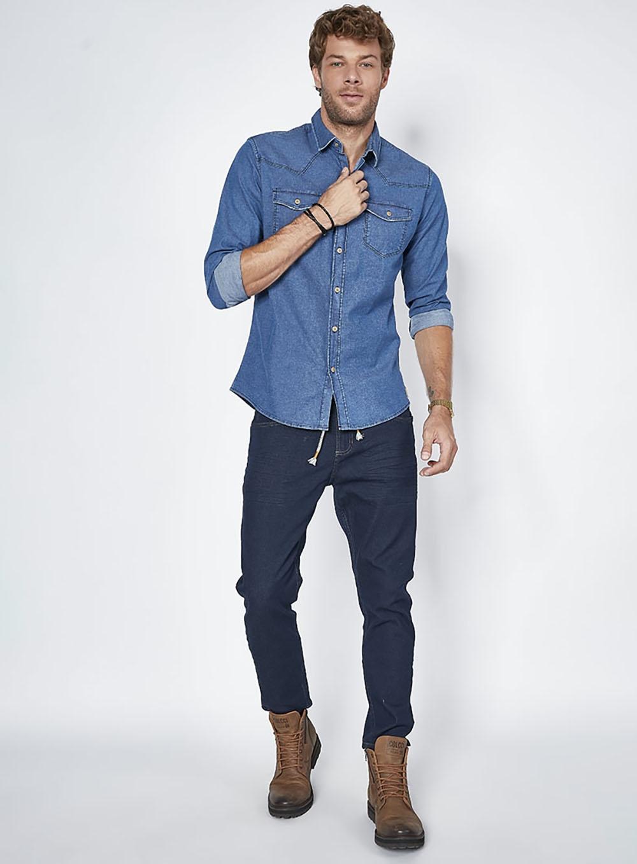54cf6e943c Calça Jeans John Cropped. Cód.: 12722   Colcci